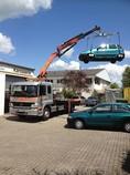 Privatparkplatz, Transport, Abschleppen